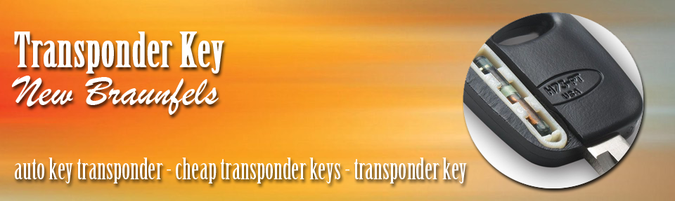Transponder Key New Braunfels